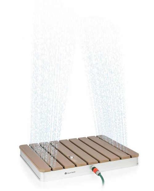 Nášlapná zahradní sprcha se spodním proudem Blumfeldt Sumatra Breeze SQ